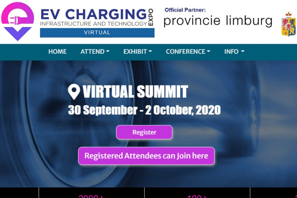 EV Charging Infrastructure and Technology Expo VIRTUAL SUMMIT